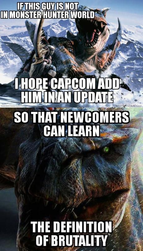 They Call Him Tigrex Randomoverload Monster Hunter Monster