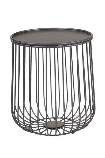 Stolik Kawowy Caps Fi 34cm Metalowy Kosz 3 Kolory 7561773123 Oficjalne Archiwum Allegro Side Table Decor Home Decor