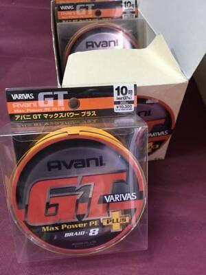 * VARIVAS Avani GT MAX POWER PE Plus 500m 8 Braided PE line
