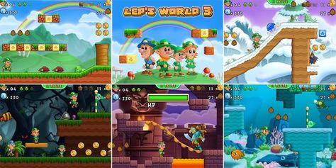 Lep's World 3 apk indir son sürüm 2 0 1 4 | arcade-oyunları