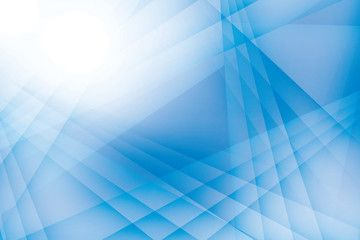 Abstract Geometric Blue And White Color Background Vector