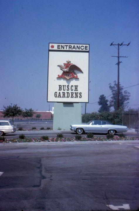 Busch Gardens, San Fernado Valley. (1960s)