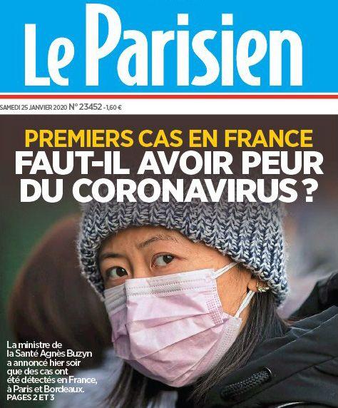 Coronarovirus Premier Cas En France La Parisienne Premiers Sons Avoir Peur