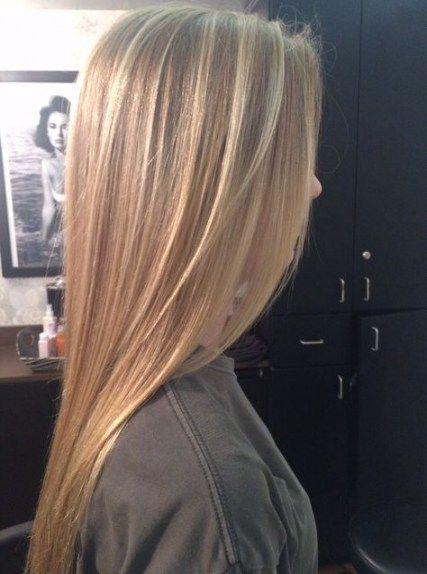 Hair Straight Blonde Highlights 49 Ideas Straight Blonde Hair