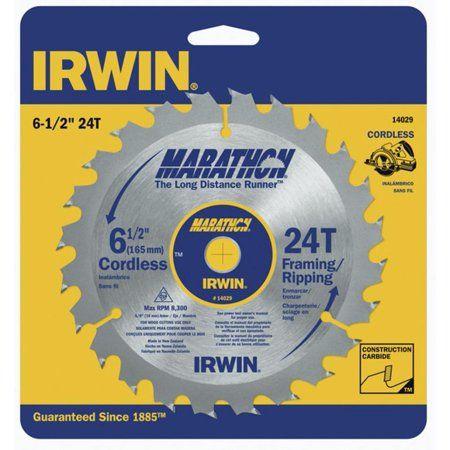 Irwin 14029 6 1 2 Inch 24 Teeth Circular Saw Blade Steel In 2020 Circular Saw Circular Saw Blades Blade