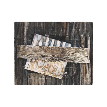 Boarded Up Old Wooden House Window Metal Print Zazzle Com