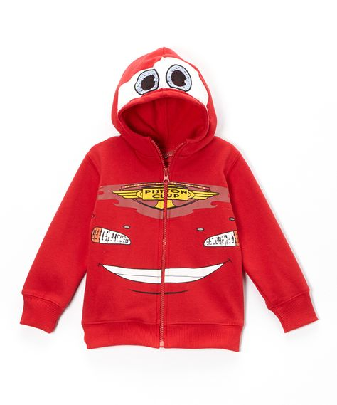Disney•Pixar Cars Red Lightning McQueen Zip Up Hoodie