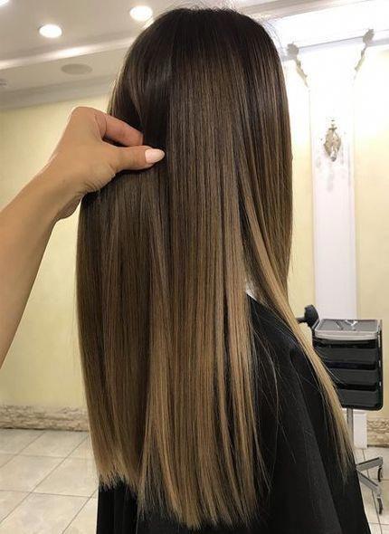 53 Dark Light Brown Hair Color Ideas On Straight Hairs 2018 Lightbrownhair Balayage Pelo Liso Pelo Castaño Con Mechas Cambios De Look Cabello