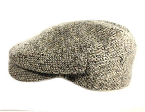d2d54406c48 IVY Cap 100% Wool Tweed Tan Fleck Jonathan Richards Irish Made -  CK17Z3Q05SU - Hats   Caps