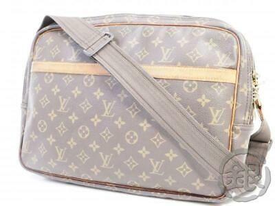 Ebay Ad Auth Pre Owned Louis Vuitton Lv Monogram Reporter Gm Messenger Bag M45252 191487 Unisex Accessories Crossbody Messenger Bag Louis Vuitton