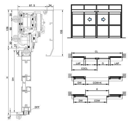 Automatic Sliding Door Actuator Electric Pocket Door Opener And Closer Supplier Automatic Sliding Doors Automatic Door Sliding Doors