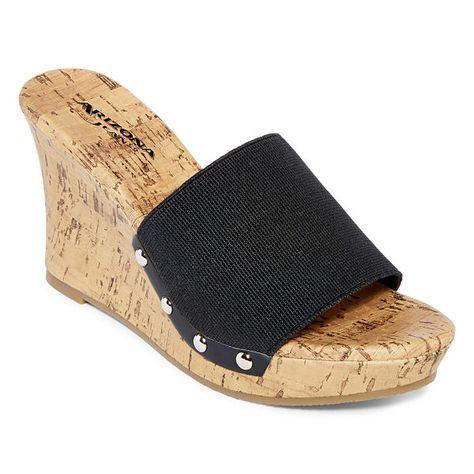 c63df4228f47 Arizona Laila Flip-Flops Shoes - JCPenney