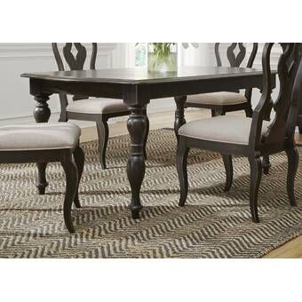 Darya Extendable Solid Wood Dining Table Dining Table Solid