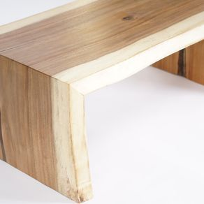 Solid Wood Waterfall Coffee Table By John Riya Hutchinson