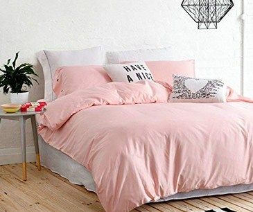 Pale Pink Sheets And The Smart Stylish Arrangement Pink Bed