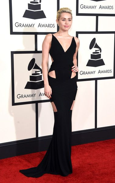 Miley Cyrus at the 2015 Grammy Awards - The Most Daring Red Carpet Dresses of the Decade - Photos