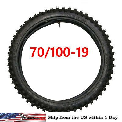 Details About Motorbike Off Road Dirt Bike Knobby Tire 70 100 19