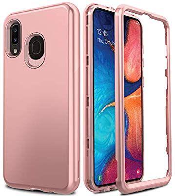 Amazon Com Amenq Case For Samsung Galaxy A20 S205dl Galaxy A30 Case 2019 Slim Full Body Hybrid Shockproof Bumper With Rubber Tpu In 2020 Samsung Phone Samsung Phone
