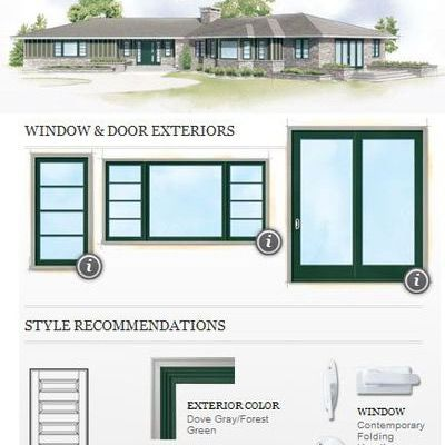 Exterior Window Styles top 7 window ideas for a ranch-style house | ranch style house