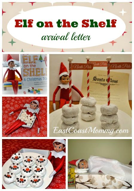 East Coast Mommy Elf On The Shelf Letter From Santa Announcing