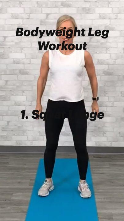 Bodyweight Leg Workout