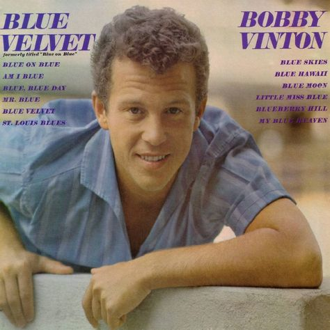 Pin By Gary Norbraten On Lp Covers 1960 1964 Bobby Vinton