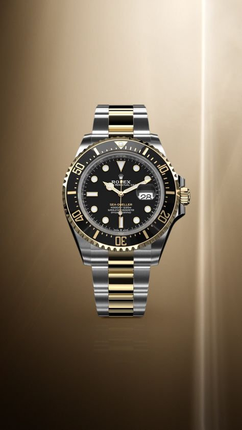 Rolex is introducing an Oyster Perpetual Sea Dweller in a yellow Rolesor version, combining Oystersteel and 18ct yellow gold. This new watch brings 18ct yellow gold to the Sea Dweller range for the first time. #Rolex #SeaDweller #101031