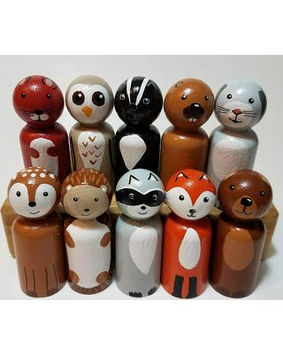 Image Result For Painted Wooden Fairy Peg Dolls Peg Wood Peg