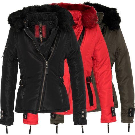 Navahoo Marbelle Womens Jacket Quilted Jacket Winter Coat