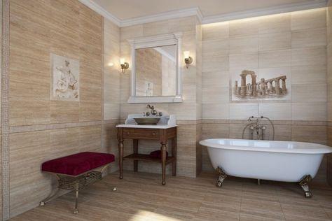 Carrelage salle de bain imitation bois – 34 idées modernes en 2018 ...