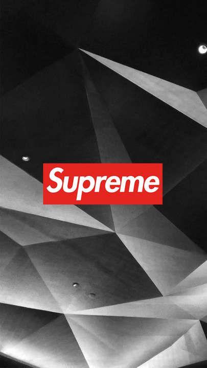 2020的supreme 3d Abstract Wallpaper Iphone
