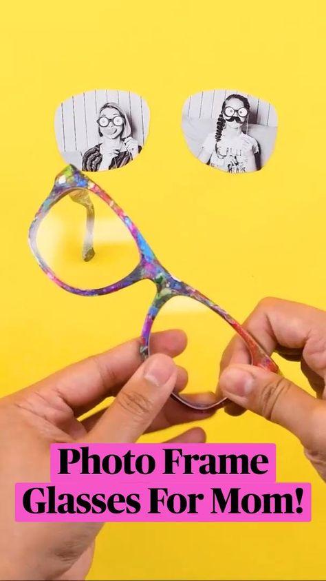 Photo Frame Glasses For Mom!