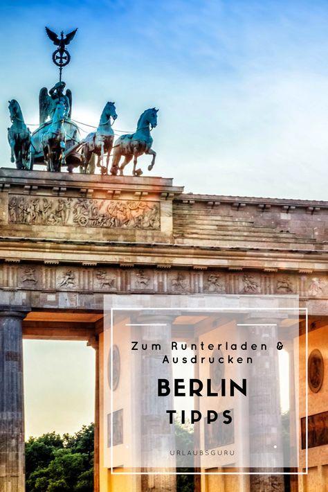 Die Besten Berlin Tipps Und Berlin Insidertipps Reisen Berlin