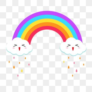 Colorful Rainbow Clouds Raining Rainbow Clipart Rainbow Clouds Png And Vector With Transparent Background For Free Download In 2021 Rainbow Color Background Rainbow Cloud Rainbow Clipart