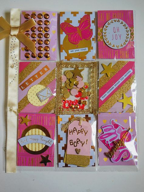 """/'PRISMATIC/' PROJECT LIFE CARDS BY BECKY HIGGINS 3/"""" X 4/"""" 23 PACK"""
