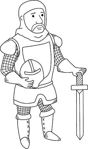 Eine Kleine Rittergeschichte Fur Kinder Ritter Burgen Abenteuer Ausmalbilder Ritter Ritter Ausmalbild