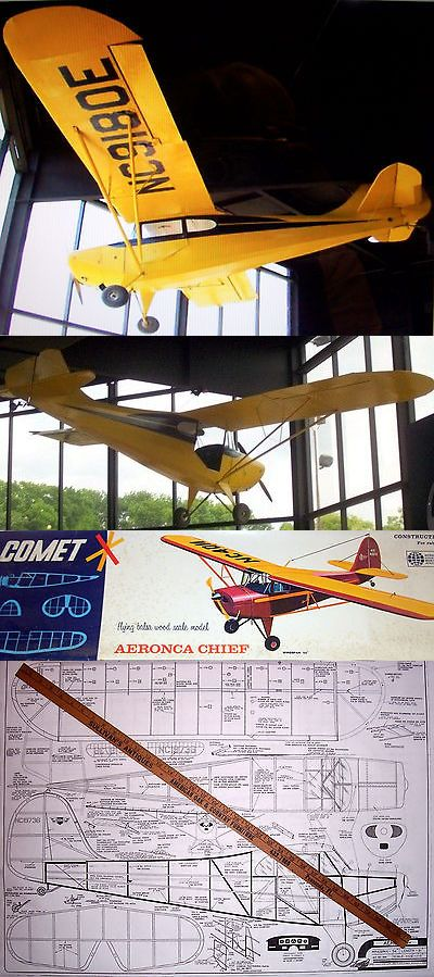 RC Plans Templates and Manuals 182212: Comet Aeronca Chief