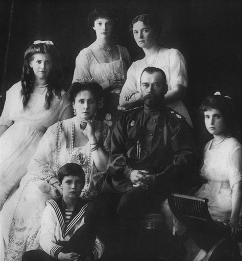 Nicholas II abdicated following the February Revolution of 1917 during which he and his family were imprisoned first in the Alexander Palace at Tsarskoye Selo, then later in the Governor's Mansion in Tobolsk, and finally at the Ipatiev House in Yekaterinburg. Nicholas II, his wife, his son, his four daughters, the family's medical doctor, the Emperor's footman, the Empress' maidservant, and the family's cook were killed in the same room by the Bolsheviks on the night of 16/17 July 1918.