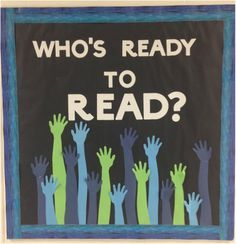 Back to School Bulletin Board for the Library- I LOVE THIS!!!!
