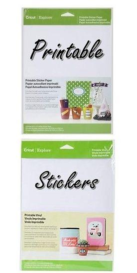 Printable Stickers Cricut Printable Stickers Printable Vinyl