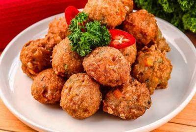 Resep Olahan Ayam Giling Bola Bola Ayam Resep Makanan Ayam Mentega