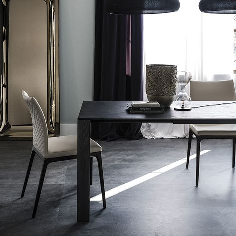 Classic Design Italia Mobili.Cattelan Italia Smith Wood Drive Table By Alberto Danese