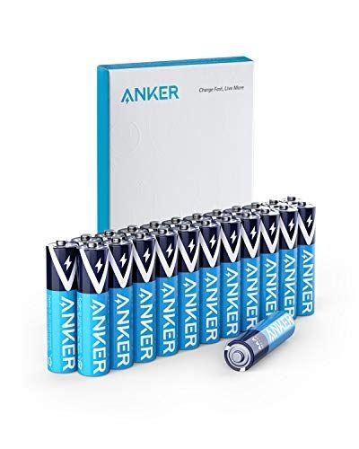 Amazon Anker Alkaline Aaa Batteries Or Aa Batteries 24 Pack Anker Batteries Amazon Subscribe And Save
