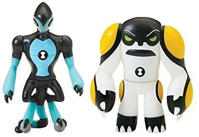 Diamondhead, Overflow Ben 10 Alien Creation Figures 2-Pack