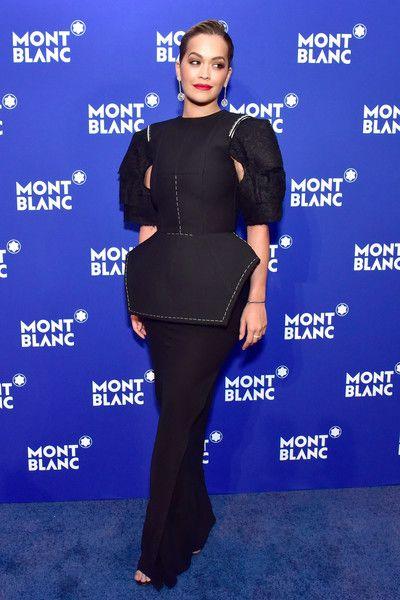 Recording artist Rita Ora attends the Montblanc Meisterstuck Le Petit Prince event.
