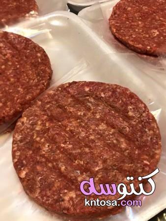 طريقه عمل برجر اللحمه فى البيت مكونات هامبرغر طريقة عمل البرجر باللحم في البيت بالصور Food Beef Meat