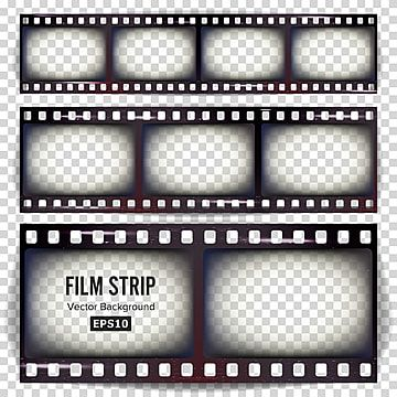 Film Strip Vector Film Strip Vector Png And Vector With Transparent Background For Free Download Film Strip Design Tape Retro Vector