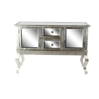 Heffernan 47 25 Wide Sideboard Wooden Sideboard Rectangular Mirror Mirror Panels