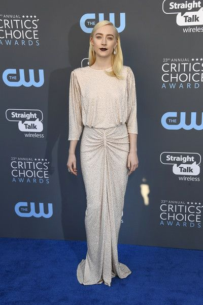 Saoirse Ronan in Michael Kors - The Most Daring Dresses at the 2018 Critics' Choice Awards - Photos