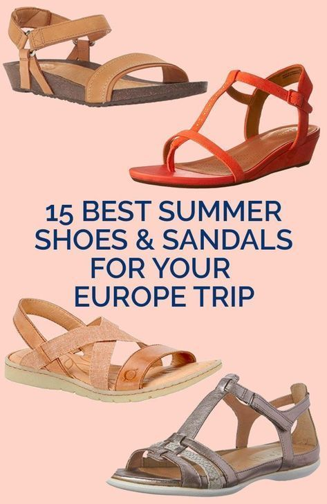 Best Walking Shoes for Europe: Comfy Summer Walking Shoes